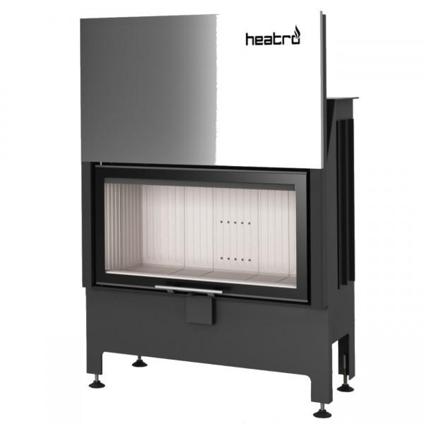 Heatro 81H Kamineinsatz mit Hebetür 12kW