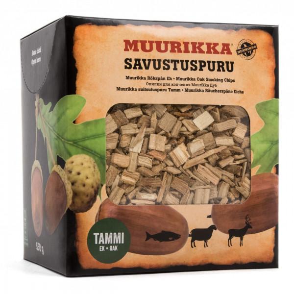 Muurikka Räucherspäne / Räucherchips Eiche 550g