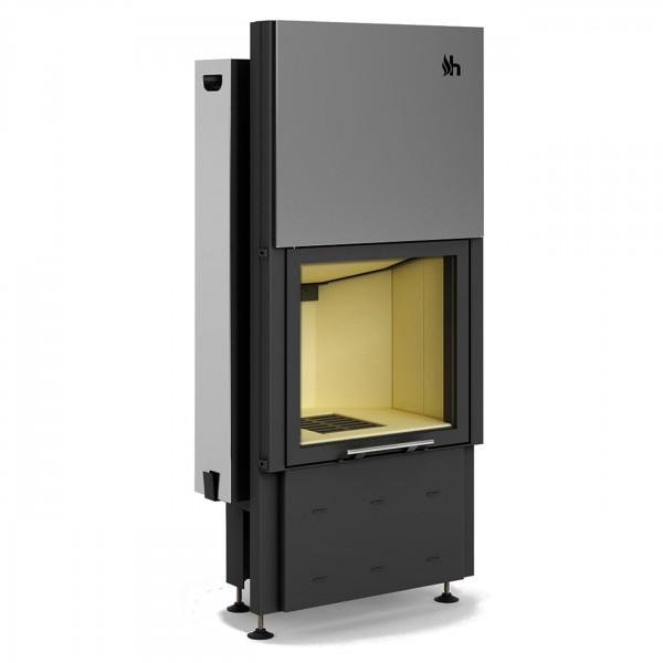 Prisma 1VMH Warmluft-Kamineinsatz 8kW und Hochschiebbarer Tür