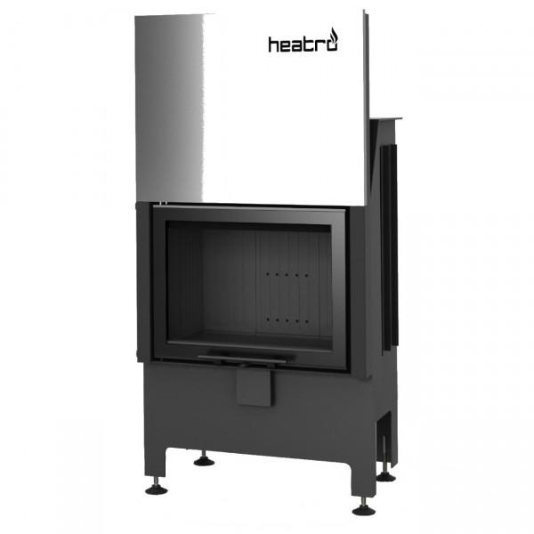 Heatro 55H Black Kamineinsatz mit Hebetür 9kW