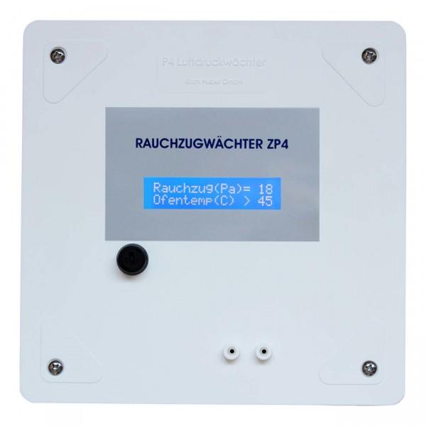 ZP4 Rauchzugwächter Aufputz mit LC-Display