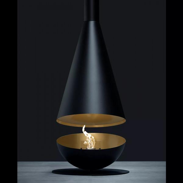 Thales Designer Bio-Ethanol Kamin Gold