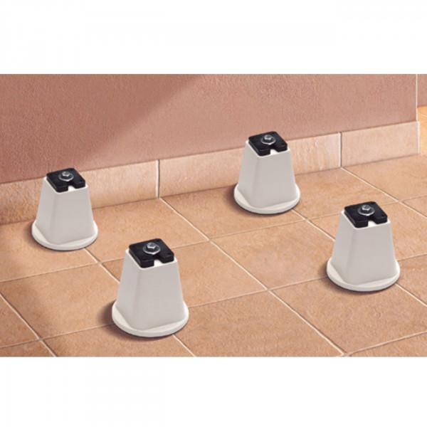 Untergestell / 4 Füße für Klimaanlagen und Wärmepumpen bis 400 kg