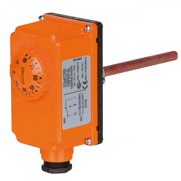 Tauchthermostat TC 100/A Außenskala Temperaturregelung von Heizkesseln