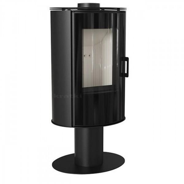 Koza AB/S/N/Glass Kaminofen 8kW Schwarz Designglasscheibe