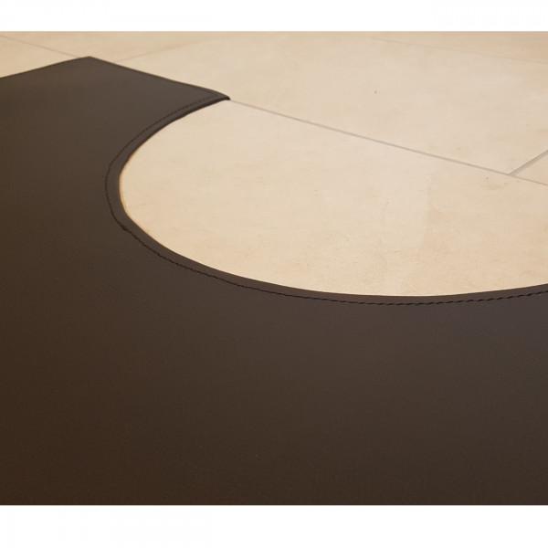Maßanfertigung - Teppich / Bodenplatte aus Ökoleder