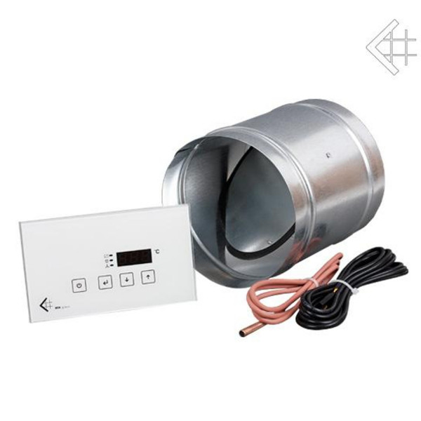 Elektronische Verbrennungs-Zuluft-Regelung 125 mm MSK / Glass