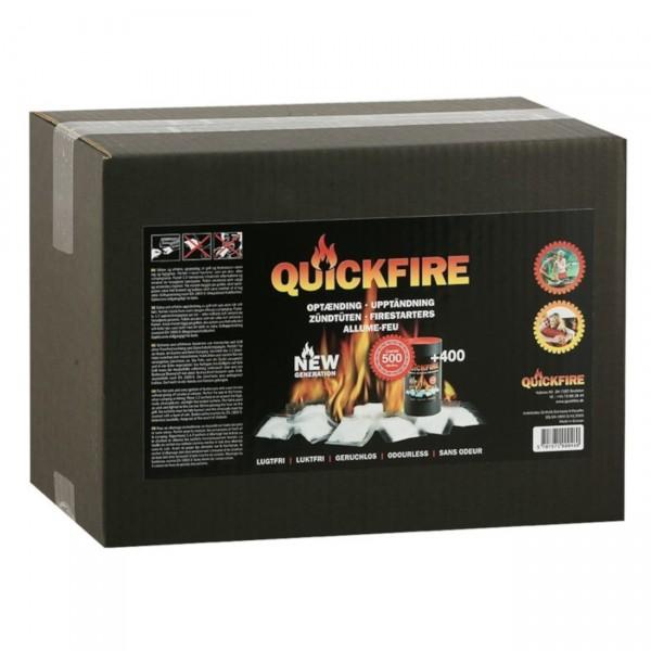 QuickFire Kamin- und Grill-Anzünder Packung 500 Stück