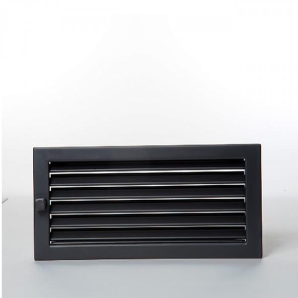 CB-Revisions-Warmluftgitter 45x45 schwarz