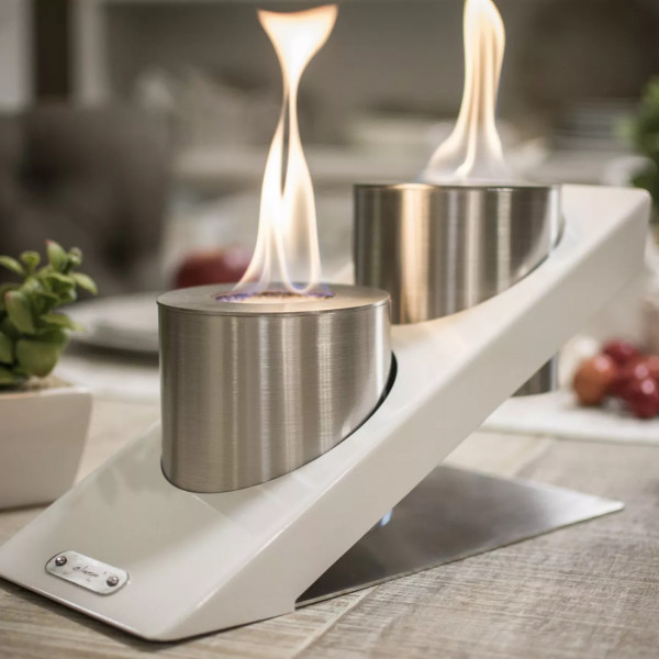 Glammfire Oblique Double Tabletop Biokamin