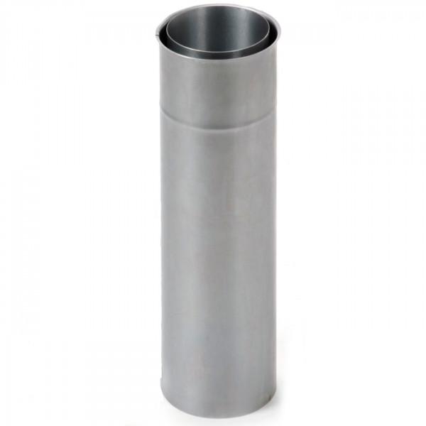 Doppeltes Wandfutter mit 500 mm Rohrverlängerung - 120 mm Ø