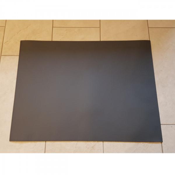 Teppich / Bodenplatte Grau aus Kunstleder / Ökoleder 80 cm x 60 cm