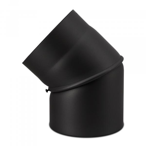Bogen 45° ohne Reinigungsverschluß stufenlos verstellbar 180 mm Ø