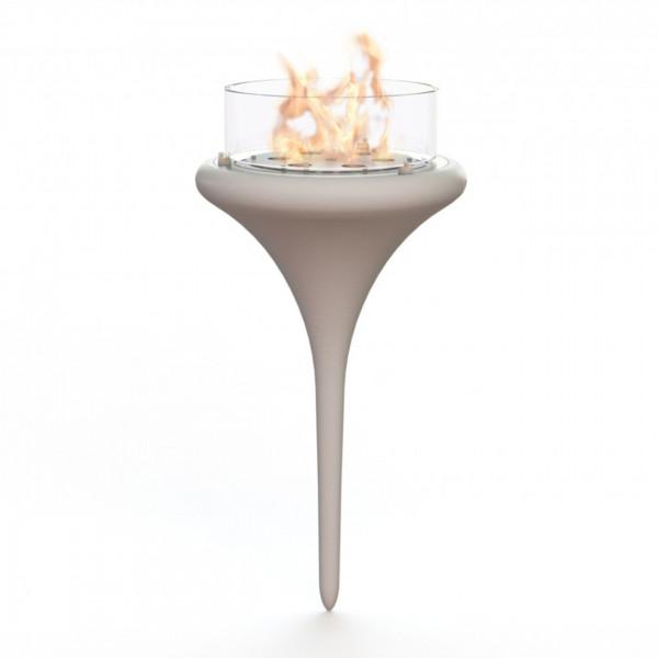 GlammFire Premium Flut Biokamin / Ethanolkamin / Poolbiokamin
